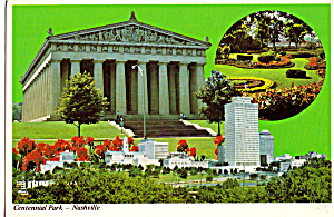 The Parthenon in Centennial Par, Nashville, Tennessee (Image1)