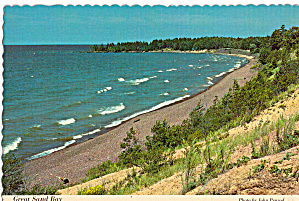 Great Sand Bay, Keweenaw Peninsula, Michigan (Image1)