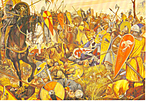 Reconstruction Of The Battle Of Hastings By Jason Askew