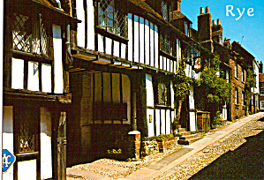 Mermaid Inn, Rye, East Suffix England