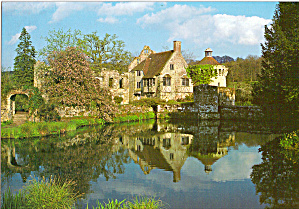 Scotney Castle and Gardens Kent England Postcard cs6219 (Image1)