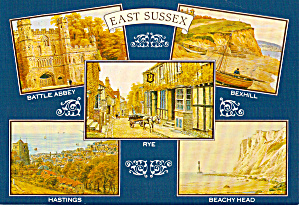 Towns Of, East Suffix England