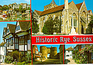 Historic, Rye, East Suffix England