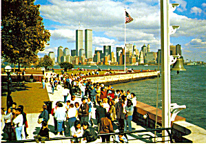 Ellis Island and New York Skyline cs6236 (Image1)
