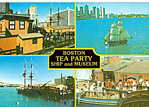 Tea Party Museum and Brig Beaver II Boston MA cs6257 (Image1)