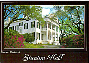 Stanton Hall Natchez Mississippi Cs6266