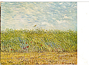 Wheatfield with Lark, Vincent Van Gogh (Image1)