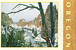 Smith Rock State Park OR cs6308 in Winter (Image1)