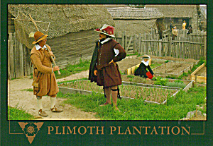 Plimoth Plantation, Plymouth, Massachusetts (Image1)