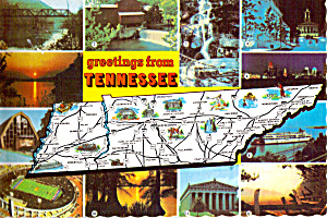 State Map of Tennesse cs6419 (Image1)