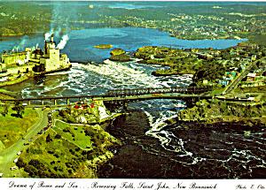 Reversing Falls, Saint John, New Brunswick (Image1)