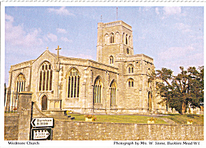 Wedmore Church, Wedmore, Somerset, England