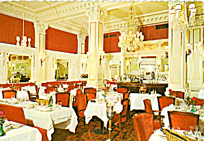 Dining Room Hotel Algonquin New York City cs6495 (Image1)