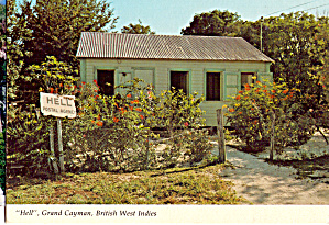Hell Postal Agency, Grand Cayman