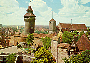 Sinwell Tower And Heathen Tower, Nurnberg, Germany
