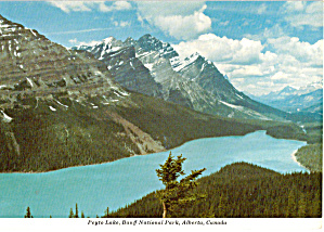 Peyto Lake, Banff National Park, Alberta, Canada (Image1)