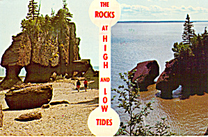 The Rocks, Hopewell Cape, Canada