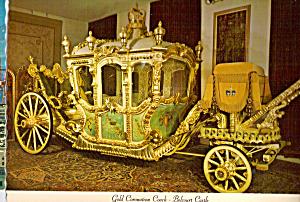 Gold Coronation Coach Belcourt Castle cs6572 (Image1)