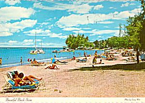 Beach Scene at Isle Verde Hotel (Image1)