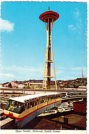 Space Needle Seattle Washington Cs6579