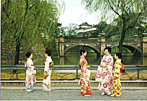 Nijyubashi Double Bridge Japanese Native Costumes cs6596 (Image1)