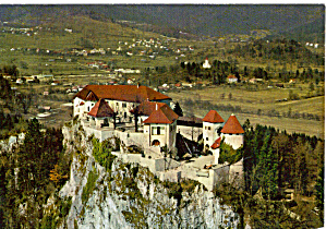 Bled Grad Castle Slovenia Postcard cs6628 (Image1)