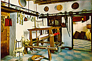Weaving Loom In Crete
