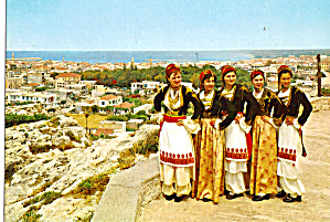 Women in Native Greek Dresses cs6638 (Image1)