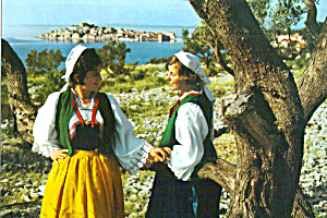 Primosten Croatia Women in Native Costume cs6652 (Image1)