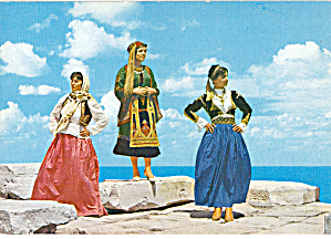 Women in Native Dress Greece cs6673 (Image1)