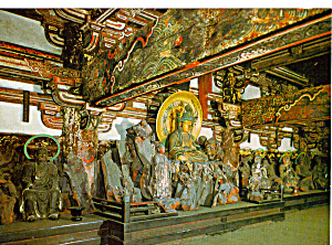 Buddhist Figures,Main Gate, Tofuku-ji Temple, (Image1)