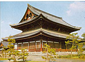 The Main Hall Tofuku ji Temple Kyoto Japan cs6691 (Image1)