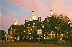 American Adventure Epcot Center Cs6734