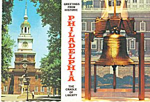 Independance Hall and The Liberty Bell Philadelphia PA  cs6762 (Image1)