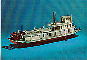 Model of Stern Wheel Towboat (Image1)