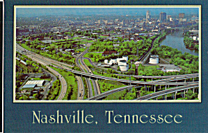 Intersection Of I-24, I-65 And I-40, Nashville