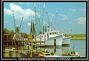 Fishing Boats Along Coastal  South Carolina cs6811 (Image1)