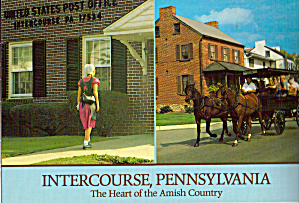 Post Office Tour Buggy Intercourse Pa Cs6815