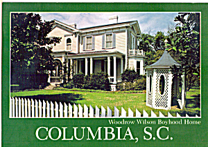 Boyhood Home Of Woodrow Wilson Columbia Sc Cs6842