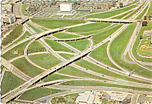 Interchange I-75,I-85 and I-20, Atlanta, Georgia (Image1)