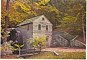 18th Century Grist Mill, TVA Reservation at Norris Dam (Image1)