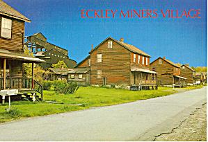 Restored Eckley Miner's Village , Pennsylvania (Image1)