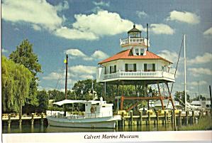 Drum Point Lighthouse Solomons Maryland cs6897 (Image1)