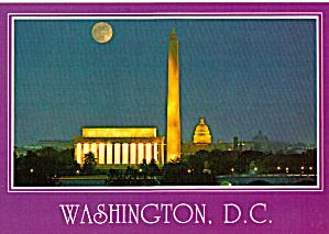 Lincoln Memorial at Night Washington DC  cs6902 (Image1)