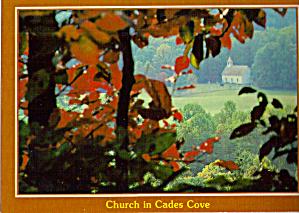 Methodist Church Cades Cove Tennessee cs6913 (Image1)