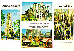 Famous Churches Of New York City Cs6958