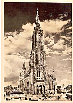Ulm Minster  Cathedral Ulm Germany cs6986 (Image1)