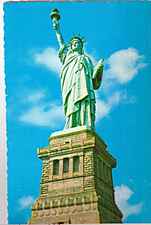 Statue Of Liberty Bedloes Island New York Harbor cs6992 (Image1)