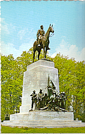 Virginia State Monument,gettysburg National Park