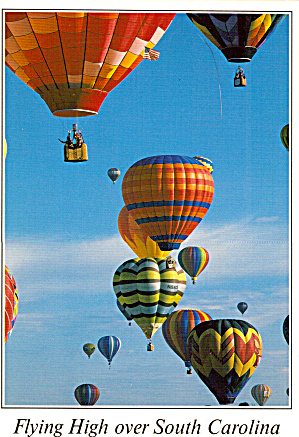 Hot Air Balloons over South Carolina (Image1)